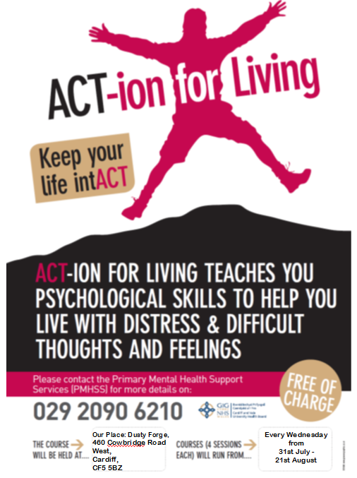 Action on living poster