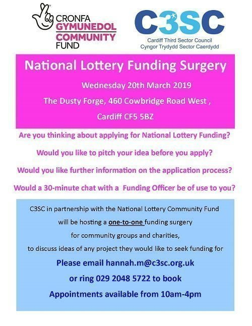 Dusty Forge Funding Surgery Poster