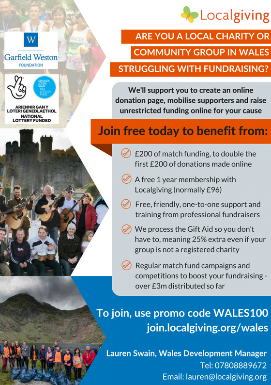 English WALES100 Year 3 flyer A5