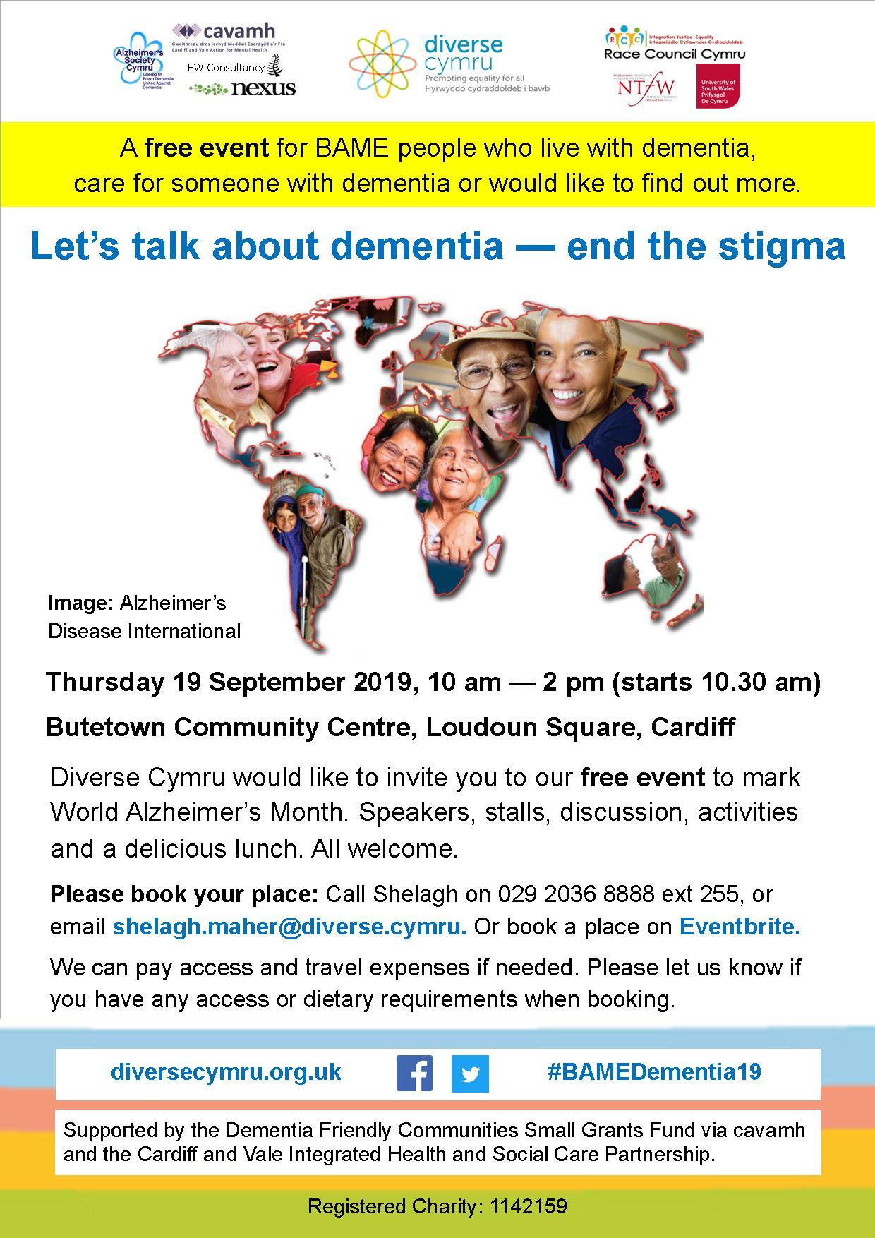 Lets talk about dementia end the stigma