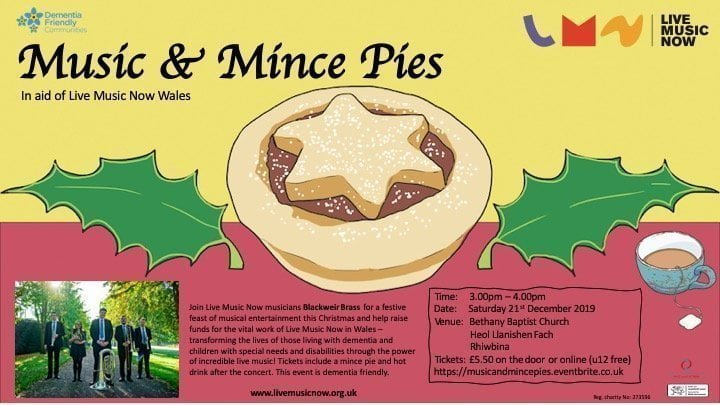 Music Mince Pies poster