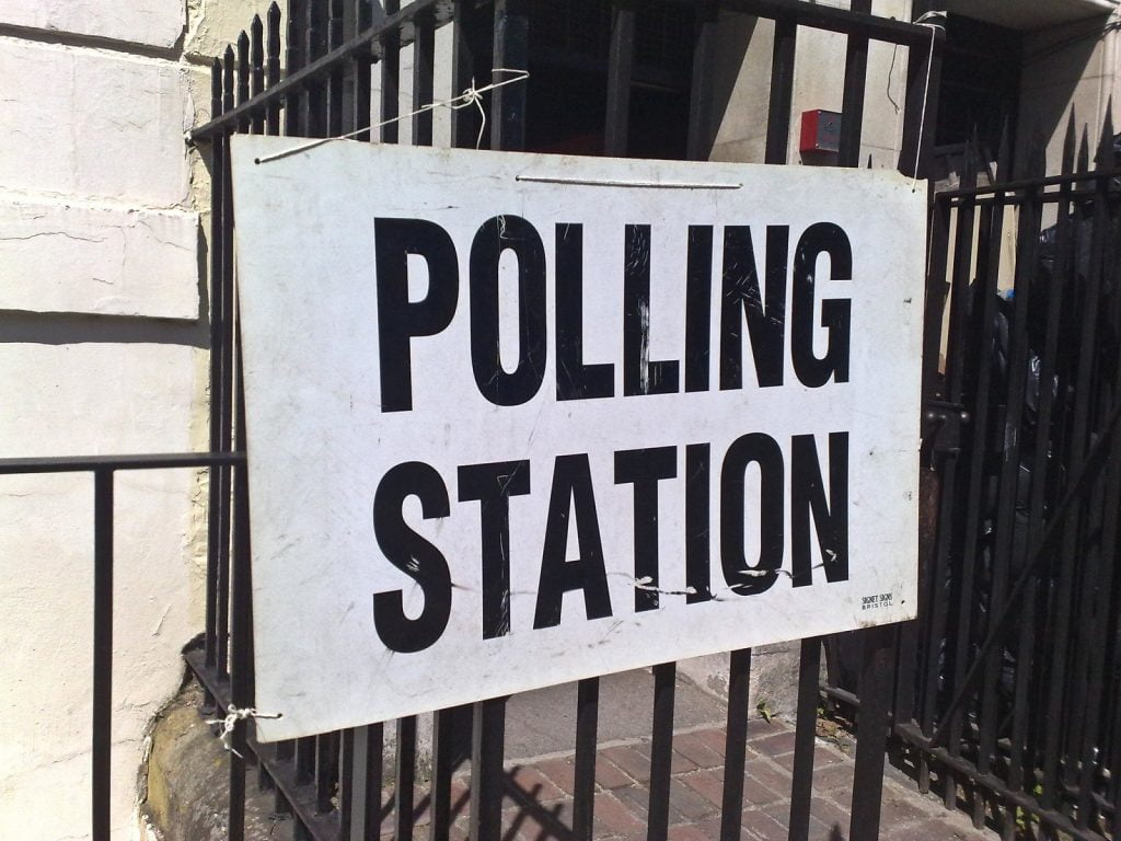 Polling station voting rights dementia