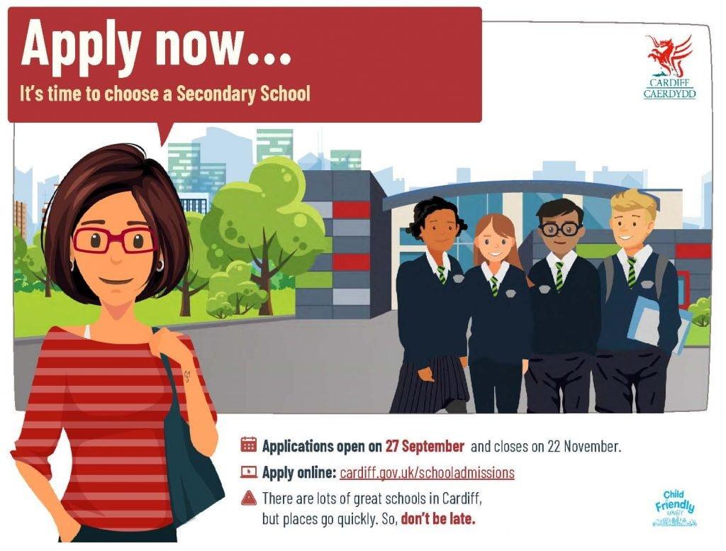 School Admissions Poster Sec En