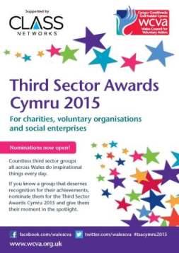 Third Sector Awards 2015 flyer