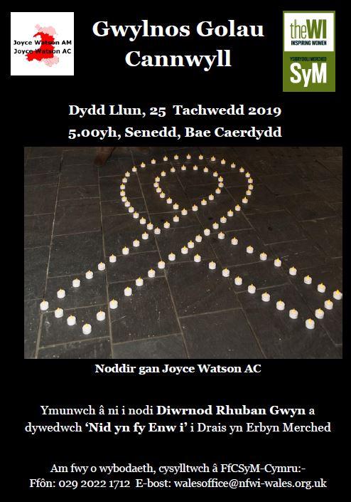 candle vigil welsh