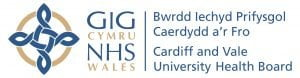 cardiff and vale University Health Board LHB logo