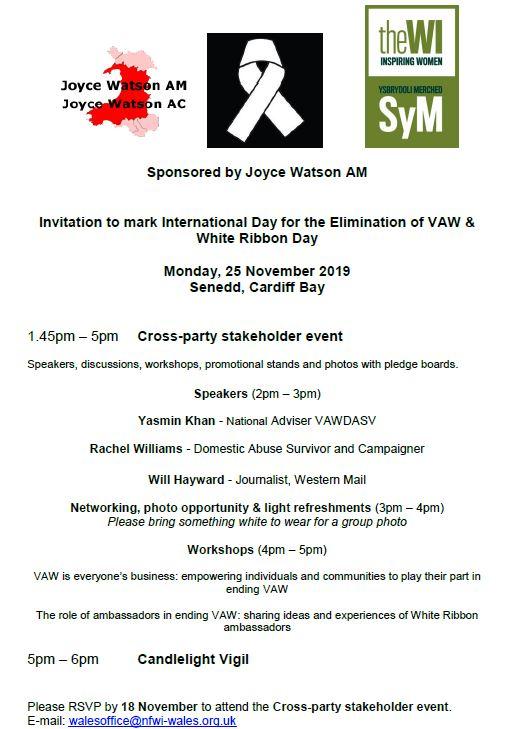 international white ribbon day