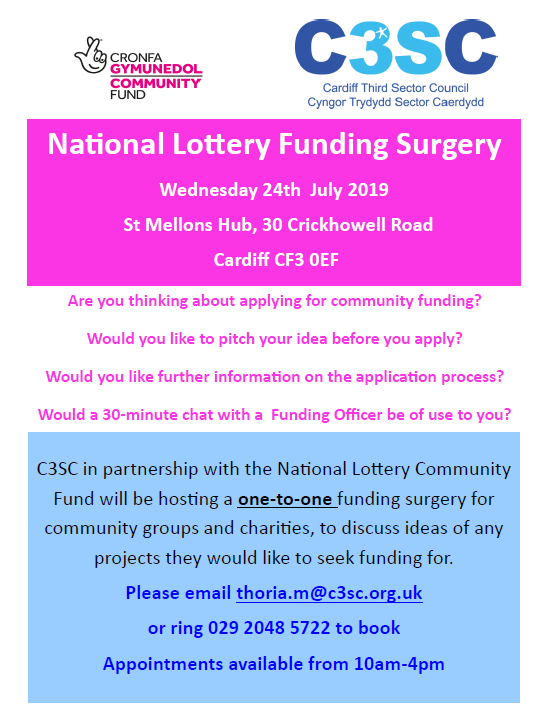 lotto funding st mellons eng