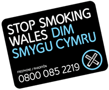 Stop Smoking Wales logo