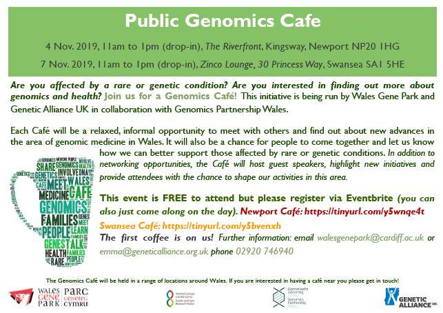 public genome cafe