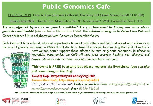 public genome cafe 2