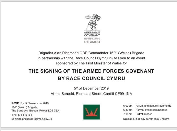 signing of the armed forces covenant